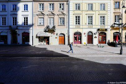 Puste ulice Warszawy. Premier pokazał zdjęcia stolicy