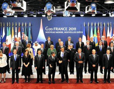 Po szczycie G 20: dużo słów, mało czynów