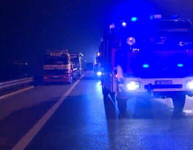 Ciężarówka zablokowała obwodnicę Wrocławia