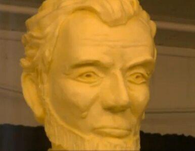 USA: atrakcja targów? Lincoln z... masła