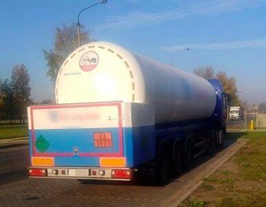 Ukrainiec przyjechał cysterną po ciekły azot. Miał 2,4 promila