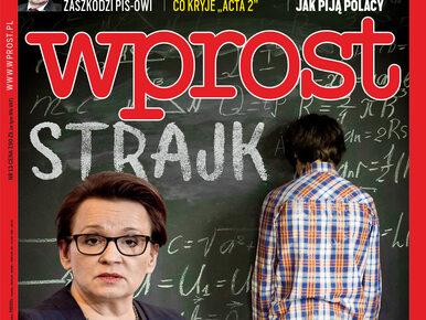 Szkoła w chaosie, wywiad z Krzysztofem Łapińskim i cenzura internetu. Co...