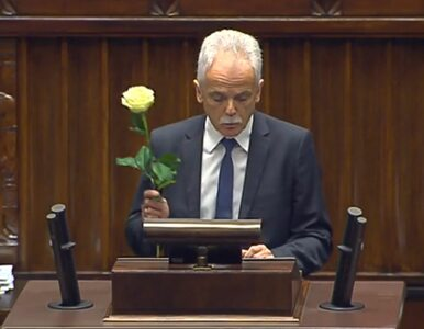 """Białe róże i oskarżenia o """"popieranie przemocy"""". W Sejmie zawrzało, nie..."""