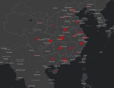 Powstała internetowa mapa zasięgu koronowirusa. Zawiera aktualne dane z...