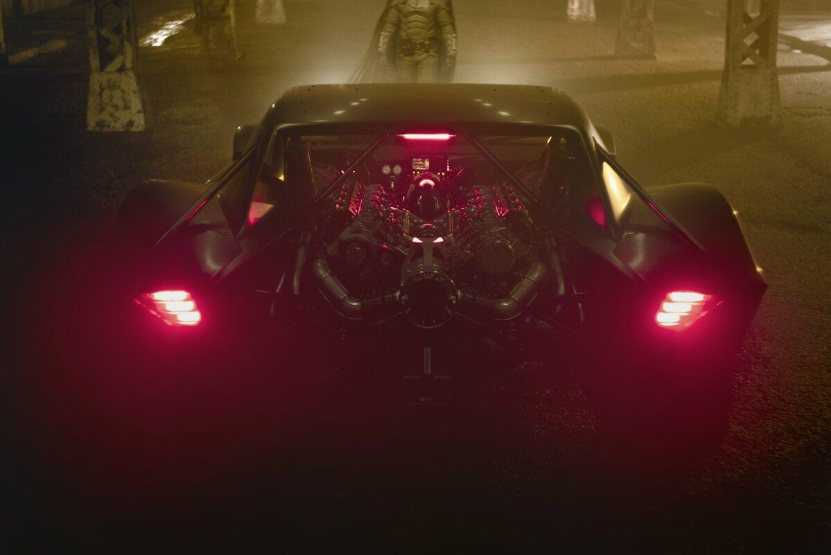 Batmobil w wersji z 2020 roku
