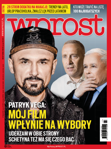Okładka tygodnika Wprost nr 27/2019 (1892)