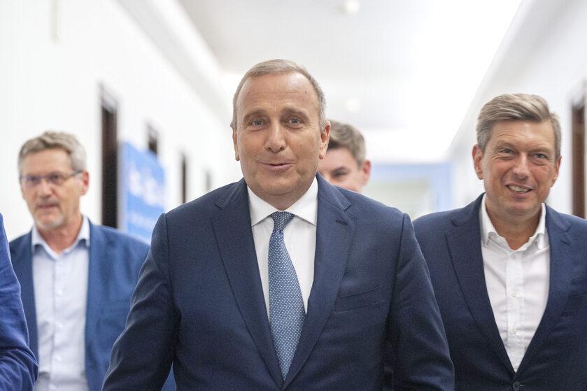 Grzegorz Schetyna i Mariusz Witczak