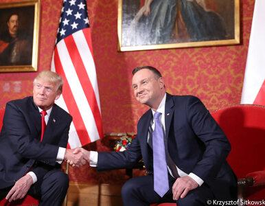 Andrzej Duda leci do USA. Spotka się z Donaldem Trumpem