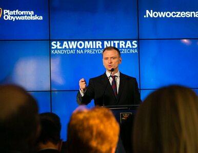 Sławomir Nitras wspólnym kandydatem PO i Nowoczesnej na prezydenta...