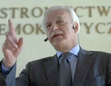 """Olechowski apeluje do polityków """"o dialog, a nie monologi"""""""