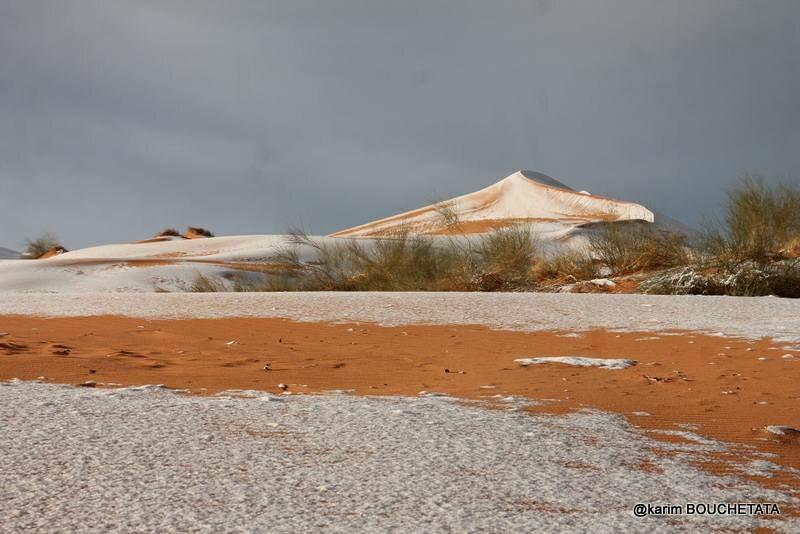 Śnieg na Saharze