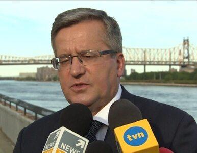 Komorowski krytykuje ONZ