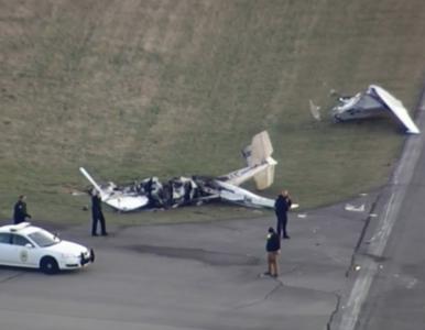 Tragiczny wypadek na lotnisku. Samoloty zderzyły się w czasie startu