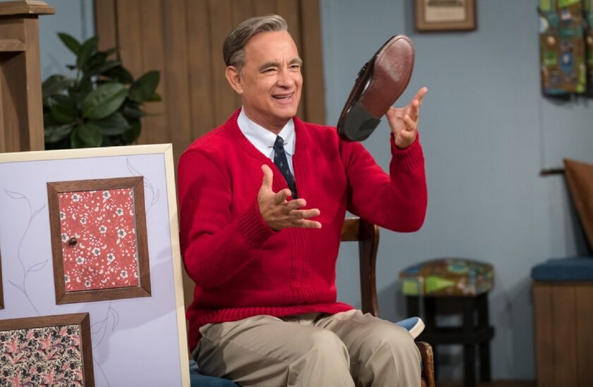 "Tom Hanks w filmie ""A Beautiful Day in the Neighborhood"""