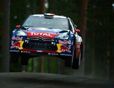 Rajd Finlandii - Loeb jedzie po zwycięstwo