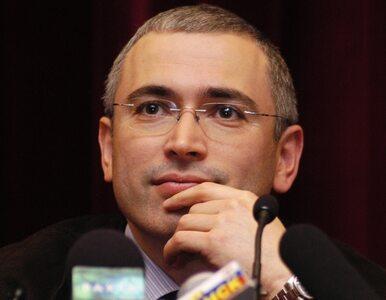 Chodorkowski nie może wrócić do Rosji, więc chce jechać do Szwajcarii