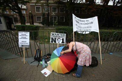 Protesty przeciw olimpiadzie