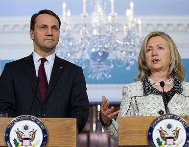 Clinton do Sikorskiego: wizy dla Polaków nieprędko zniesiemy