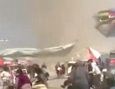 Tornado porwało dmuchany zamek. 2 dzieci nie żyje, co najmniej 18 rannych