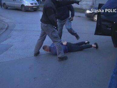 Rozbita niebezpieczna śląska grupa przestępcza. Zatrzymani usłyszeli 237...