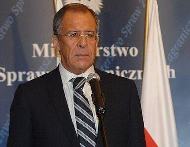 Ławrow w 2008 r.: Nie zamierzamy kwestionować terytorialnej...