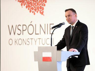 Prezydent Andrzej Duda podał datę referendum ws. konstytucji
