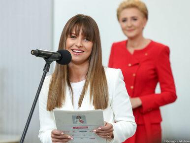 """Agata Duda spotkała się z Anną Lewandowską. """"Jest to dla mnie wielki..."""