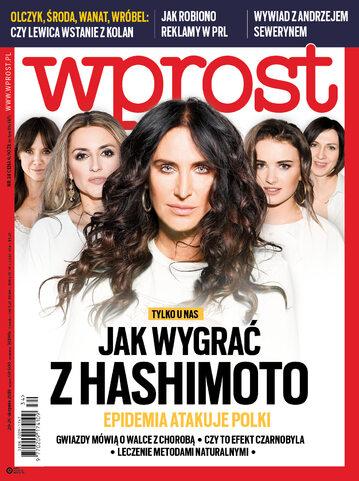Okładka tygodnika Wprost nr 34/2018 (1849)