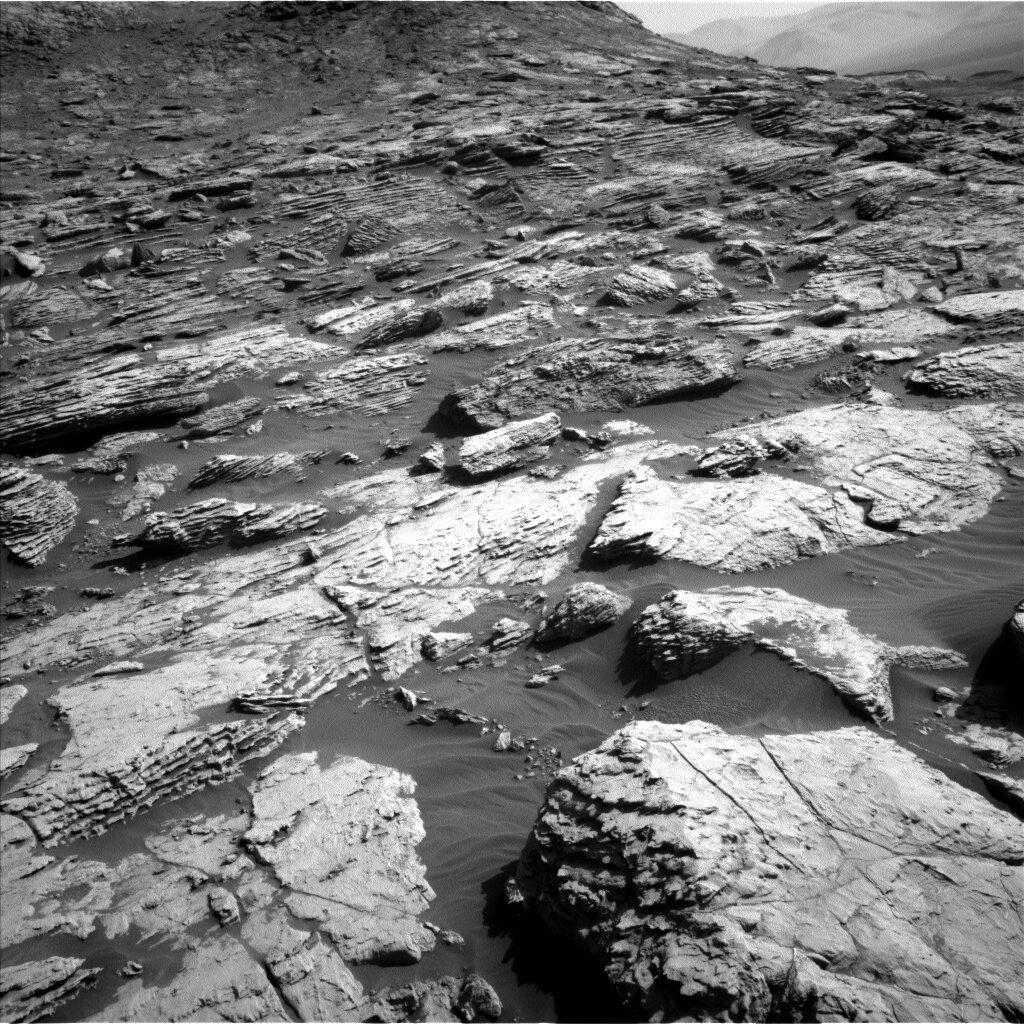 Zdjęcia Marsa, rejon Central Butte