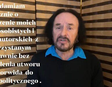 """Piosenka Stana Borysa w antyrządowym filmie. """"Słowa Norwida zostały..."""