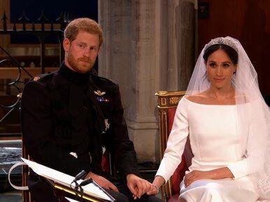 NA ŻYWO: Ślub Meghan Markle i księcia Harry'ego
