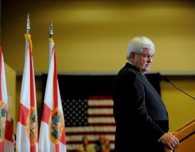 Prawybory w USA: Gingricha lubią wyborcy - ale nie jego partia