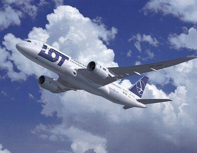 Dreamliner LOT-u miał lecieć do Pekinu - został na Okęciu