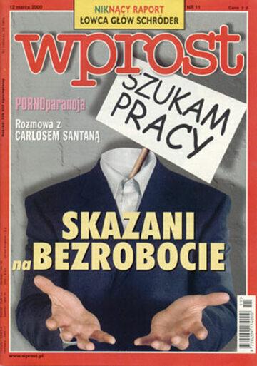 Okładka tygodnika Wprost nr 11/2000 (902)