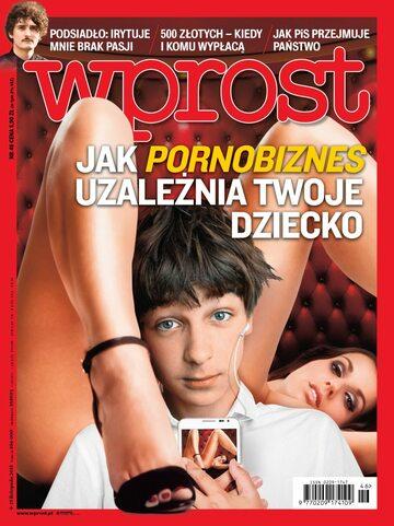 Okładka tygodnika Wprost nr 46/2015 (1705)