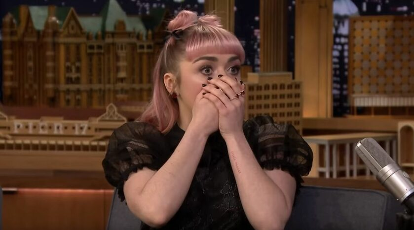 Maisie Williams u Jimmy'ego Fallona
