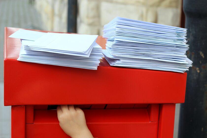 Skrzynka na listy pocztowe