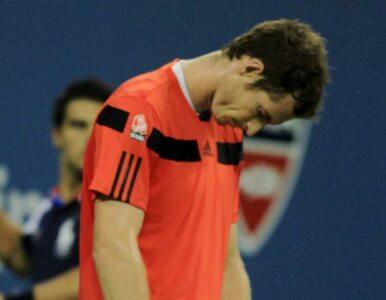 US Open: Murray nie obroni tytułu. Roztrzaskał za to rakietę
