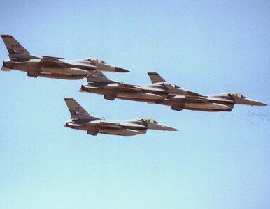 Chciał zrobić na złość szefowi. Uszkodził... myśliwce F-16