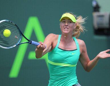 Turniej WTA w Miami: Szarapowa już w finale