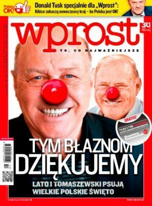 Okładka tygodnika Wprost nr 22/2012 (1528)