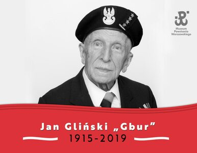 Zmarł Jan Bohdan Gliński, lekarz powstania warszawskiego. Miał 104 lata