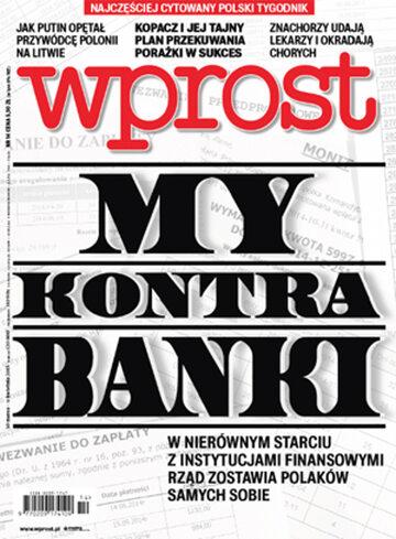 Okładka tygodnika Wprost nr 14/2015 (1673)