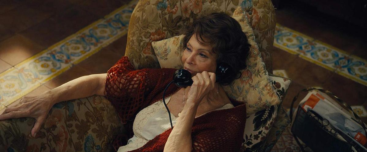"Sophia Loren w filmie ""Voce umana"" (2014)"