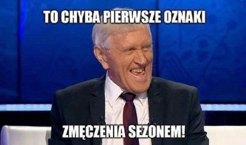Mem po meczu Legii Warszawa