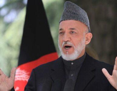 Prezydent Afganistanu: NATO zabija naszych cywilów