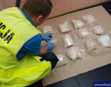 Policjanci przejęli ponad 40 kg narkotyków. Trop prowadzi do Holandii