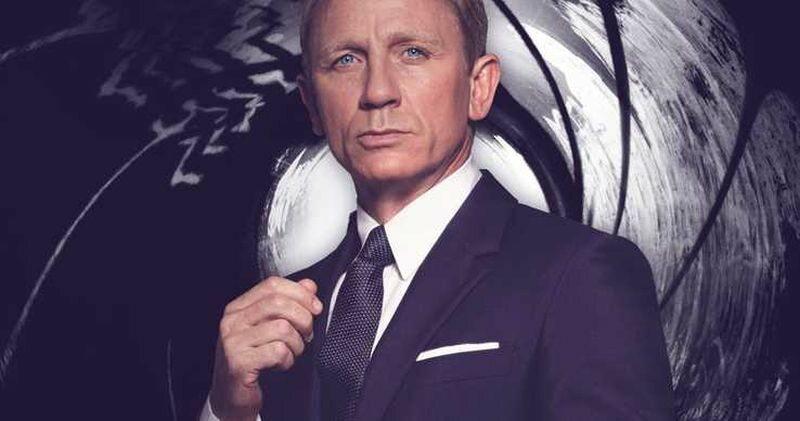 Daniel Craig w roli Bonda