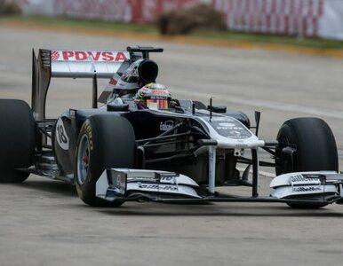 """F1: Maldonado rozbił bolid. """"Na pokazowym przejeździe"""""""