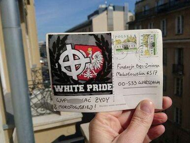 """Warszawska fundacja otrzymała pocztówkę z hasłem: """"Wyp...ć Żydy z..."""